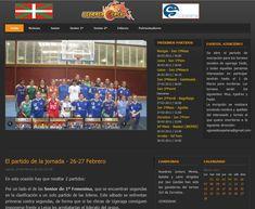 Sitio web desarrollado con Joomla en 2008