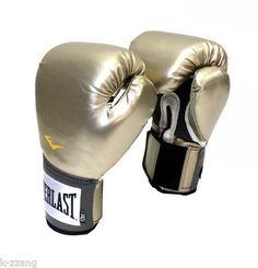 EVERLAST Boxing Glove Prostyle training gloves MMA Muaythai Gold Red Black Blue