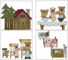 Goldilocks & the 3 Bears: Book companion - Speech Room News