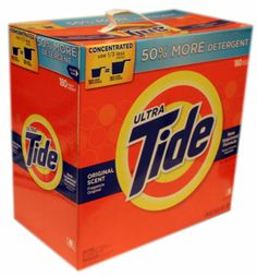 Ultra Tide Original Scent New Improved Laundry Formula 180 Loads 15.87 LB ❀❤☀