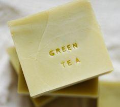 Green Tea Soap Handmade