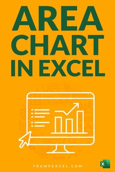 Learn how to quickly create Area chart in Excel. These are just like line charts in Excel, and are often used in business reports and presentations to show variations overtime Excel For Beginners, Excel Hacks, Pivot Table, Absolute Value, Charts And Graphs, Microsoft Excel, Line Chart, Tutorials, Create