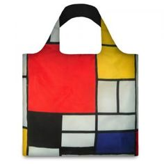 ピエト・モンドリアン「Composition with Red Yellow Blue and Black