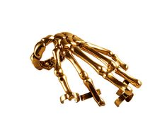 delfina delettrez skeleton hand bracelet | My personal favorites are the kama sutra cufflinks, the broken heart ...