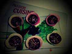 Petits gâteaux chocolat/betterave