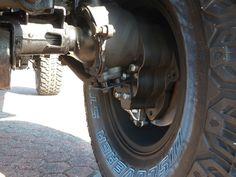 HZJ 78 with portale axles