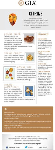 Citrine Buying Guide | GIA 4Cs Blog