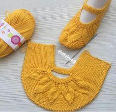 Lace Knitting, Baby Knitting Patterns, Knitting Socks, Knitting Designs, Lace Patterns, Knit Slippers Free Pattern, Crochet Shoes Pattern, Knitted Slippers, Crochet Baby