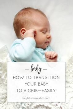 Baby still sleeping in your room in a bassinet or rocker? Here's how we transitioned our twins to their cribs—it was way easier than we expected!