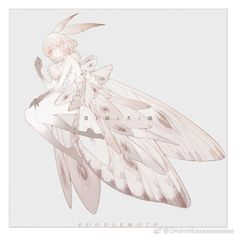 Mythical Creatures Art, Magical Creatures, Fantasy Creatures, Fantasy Character Design, Character Design Inspiration, Character Art, Cute Moth, Creature Drawings, Creature Concept