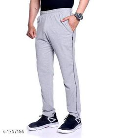 Track Pants Comfy Cotton Men's Track Pant  *Fabric* Cotton  *Size* L - 32 in, XL - 34 in, XXL - 36 in  *Length* Up To 40 in  *Type* Stitched  *Description* It Has 1 Piece Of Men's Track Pant  *Pattern* Solid  *Sizes Available* M, L, XL, XXL *   Catalog Rating: ★4 (2619)  Catalog Name: Stylo Comfy Cotton Mens Track Pants Vol 3 CatalogID_223193 C69-SC1214 Code: 553-1707196-