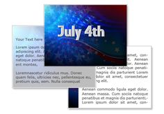 July 4th Powerpoint Template