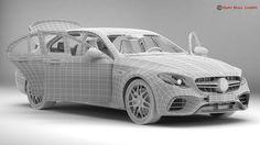 mercedes amg e63 s 2018 3d model max obj 3ds fbx c4d lwo lw lws 18
