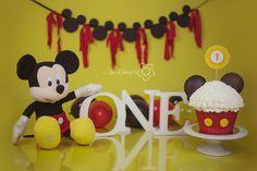 Smash the Cake tema do Mickey