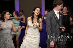 Jesse La Plante Photography | Wedding at The Pines | Genesee, CO | Bride and groom dancing with guests