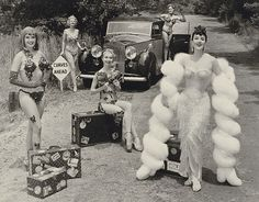 Gypsy Rose Lee and Her Girls (Getty Museum)