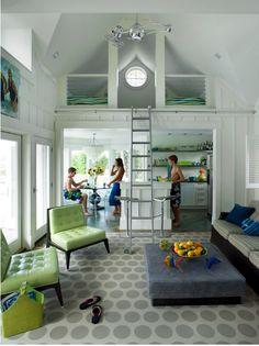 contemporary fun interior