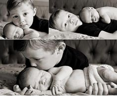 newborn and sibling poses Newborn Sibling, Foto Newborn, Sibling Poses, Newborn Shoot, Siblings, Sibling Photography, Children Photography, Newborn Pictures, Baby Pictures