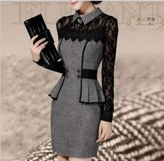 Free shipping, $10.48/Piece:buy wholesale  Vestidos Casual Dress 2015 Winter Dress OL Elegant Classical Lace Long Sleeve Package Hip Dress new arrive free shippingStreet Style,Crew Neck,A-Line on agnes123's Store from DHgate.com, get worldwide delivery and buyer protection service.