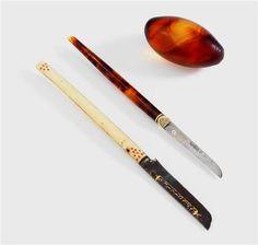 Osmanlı kalemtraş ve mühre