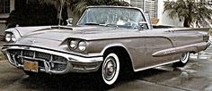 1960 Ford Thunderbird (ordinarily not a Ford girl, but hot is hot!)