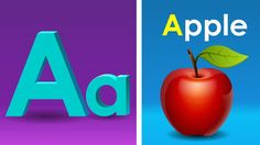 Phonics Song with TWO Words - A For Apple -