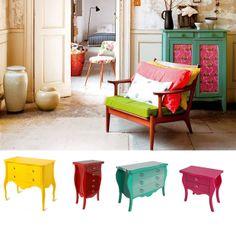 Casa de Colorir: Amor pelo estilo retrô