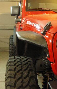 River Raider Jeep JK Tubular Fender Flares: Off-Road.com