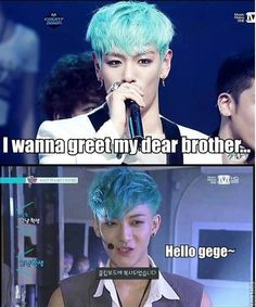 The I've seen him before feeling makes sense now. :)  Big Bang, EXO