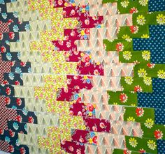 Made with DS quilts.    Like the strong pattern ( I think the DS is for Denise Schmidt - designer)