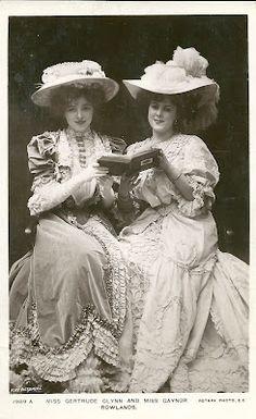 Gertrude Glynn and Gaynor Rowlands, 1906.