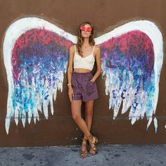 L.A.'s Angel Wings - The Top Instagrammed Design Destinations In The U.S. - Photos