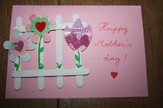 Mother's day card, grade 3