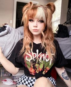 Ginger Hair Color, Edgy Hair, Hair Dye Colors, Dye My Hair, Aesthetic Hair, Grunge Style, Hair Day, Gorgeous Hair, Pretty Hairstyles