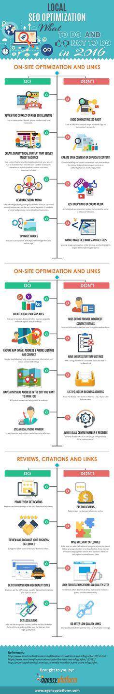 Qué hacer y qué no hacer para mejorar tu #SEO local