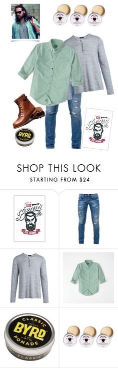 """beard love"" by namaste203 ❤ liked on Polyvore featuring Dondup, Vince, Abercrombie & Fitch, men's fashion and menswear"