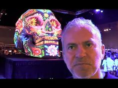 Master Projection Designer Bart Kresa presents their GIANT skull projection art and shares some visions on the future of projection mapping at the 2015 Siggr...