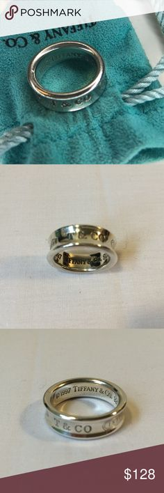 224580126 Tiffany & Co. 1837 Sterling Silver 925 Ring 4 Tiffany & Co. 1837 Sterling