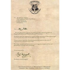 hogwarts letter | Tumblr ❤ liked on Polyvore featuring harry potter, fillers, hogwarts, hp and magic