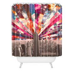 Bianca Green Superstar New York Shower Curtain | DENY Designs Home Accessories