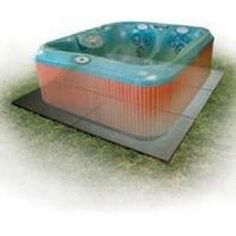 Outdoor Hot Tubs - Confer SP3248 8 x 8 Handi Spa Hot Tub Deck Foundation Plastic Resin Base Pad >>> Details can be found by clicking on the image. (This is an Amazon affiliate link)