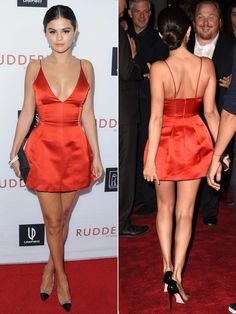 Selena-Gomez-rudless-screening-red-short-dress-gty-side-by-side-ftr