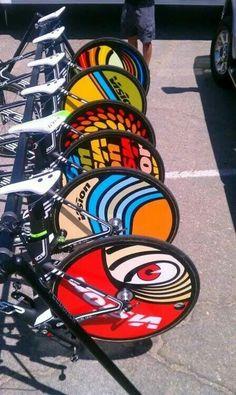 Cool bike wheels