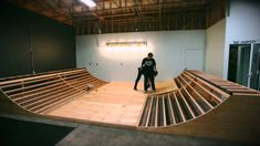 Building a Mini Ramp In 5 Minutes.