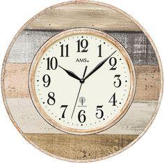 AMS Funkwanduhr, »F5975« Jetzt bestellen unter: https://moebel.ladendirekt.de/dekoration/uhren/wanduhren/?uid=782a7229-e988-54de-a0c7-de1efad82d99&utm_source=pinterest&utm_medium=pin&utm_campaign=boards #uhren #dekoration