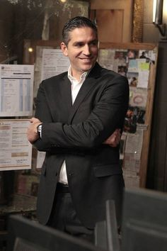 Jim caviezel as John Reese behind the scenes