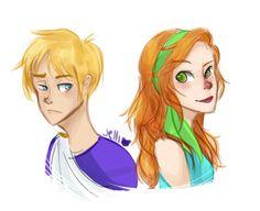 Octavian x Rachel Elizabeth Dare - augur and oracle!!