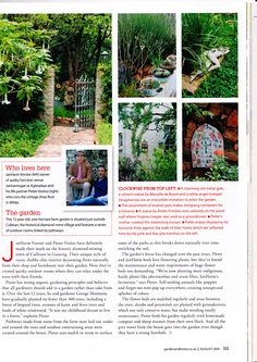 Garden & Home magazine August Keeping it Country. A feature on our farm garden. Angel Trumpet, Garden Pond, Farm Gardens, August 2014, House And Home Magazine, Vintage Shops, Home And Garden, Invitations, Country