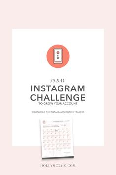 30 Day Instagram Challenge to Grow Your Account! Take a 30 day challenge with me as I attempt to grow my Instagram account with more engaged followers. See my five-step process and then come back 30 days later to see how well I did!