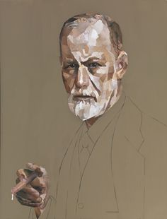 Jonathan Yeo — Analyse This (Sigmund Freud) Portraits, Portrait Art, Painting Prints, Painting & Drawing, Jonathan Yeo, Advanced Higher Art, Sketches Of People, Happy Paintings, Identity Art